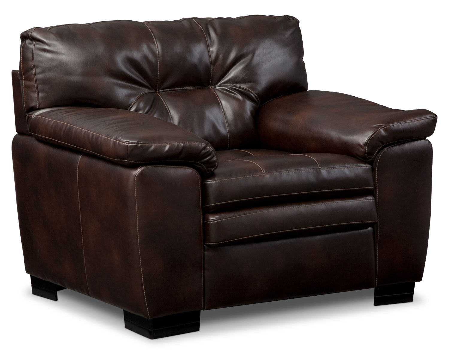 Living Room Furniture - Magnum Chair - Brown