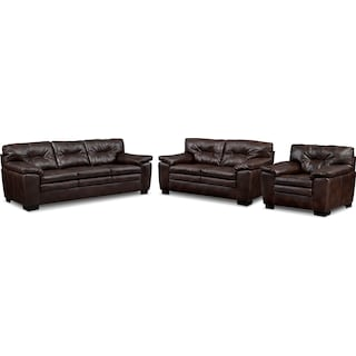 Magnum Sofa, Loveseat and Chair Set