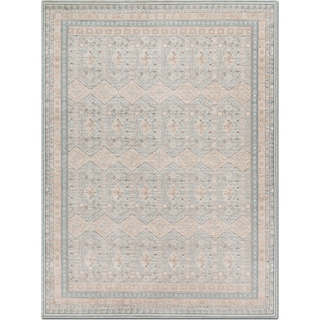 Ella Rose 10' x 13' Rug - Mist and Stone