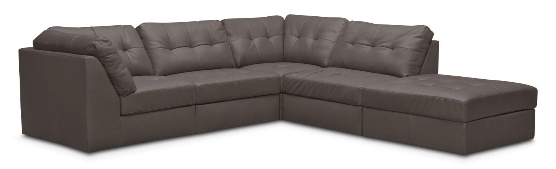 Cayenne 5-Piece Modular Sectional - Gray