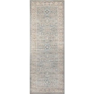 Ella Rose 3' x 8' Rug - Steel