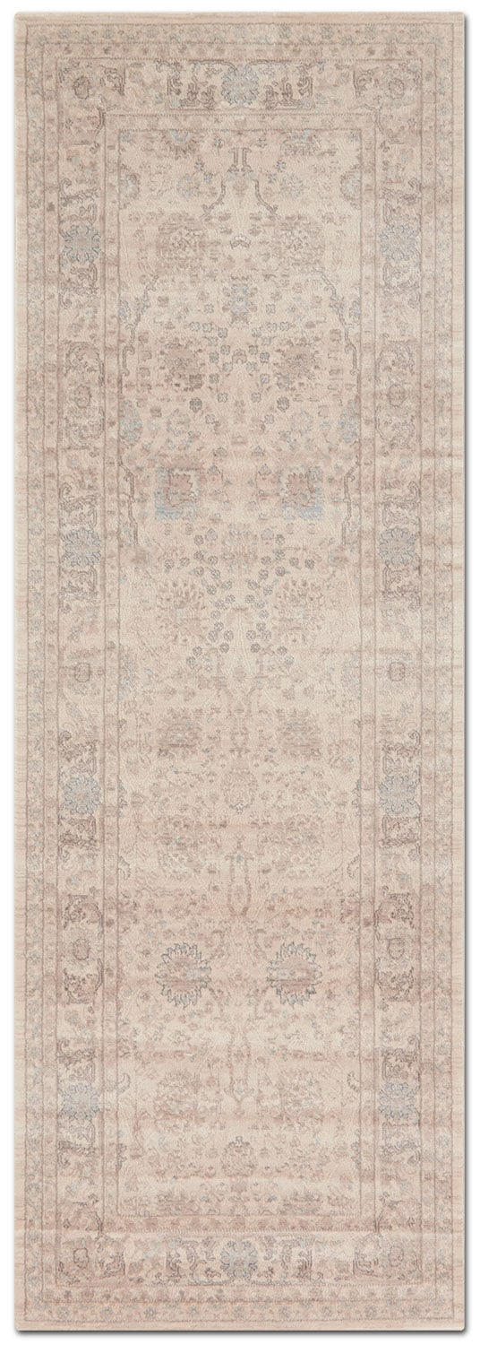 Rugs - Ella Rose 3' x 8' Rug - Natural