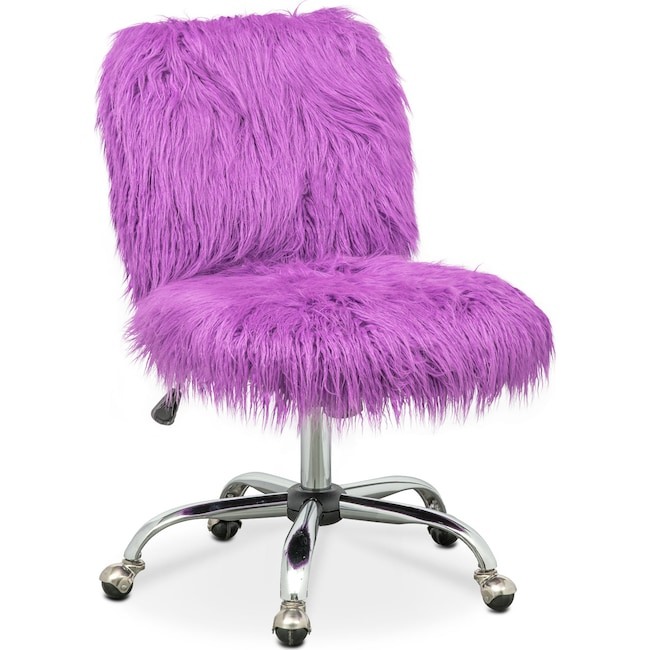 Home Office Furniture - Frenzy Office Chair - Purple