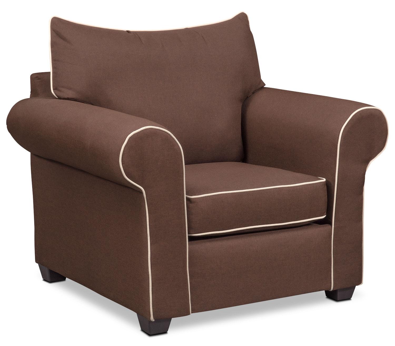 Carla Chair - Chocolate
