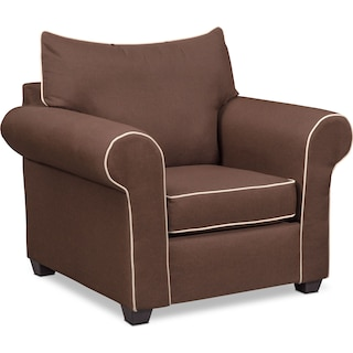 Carla Chair - Chocolate