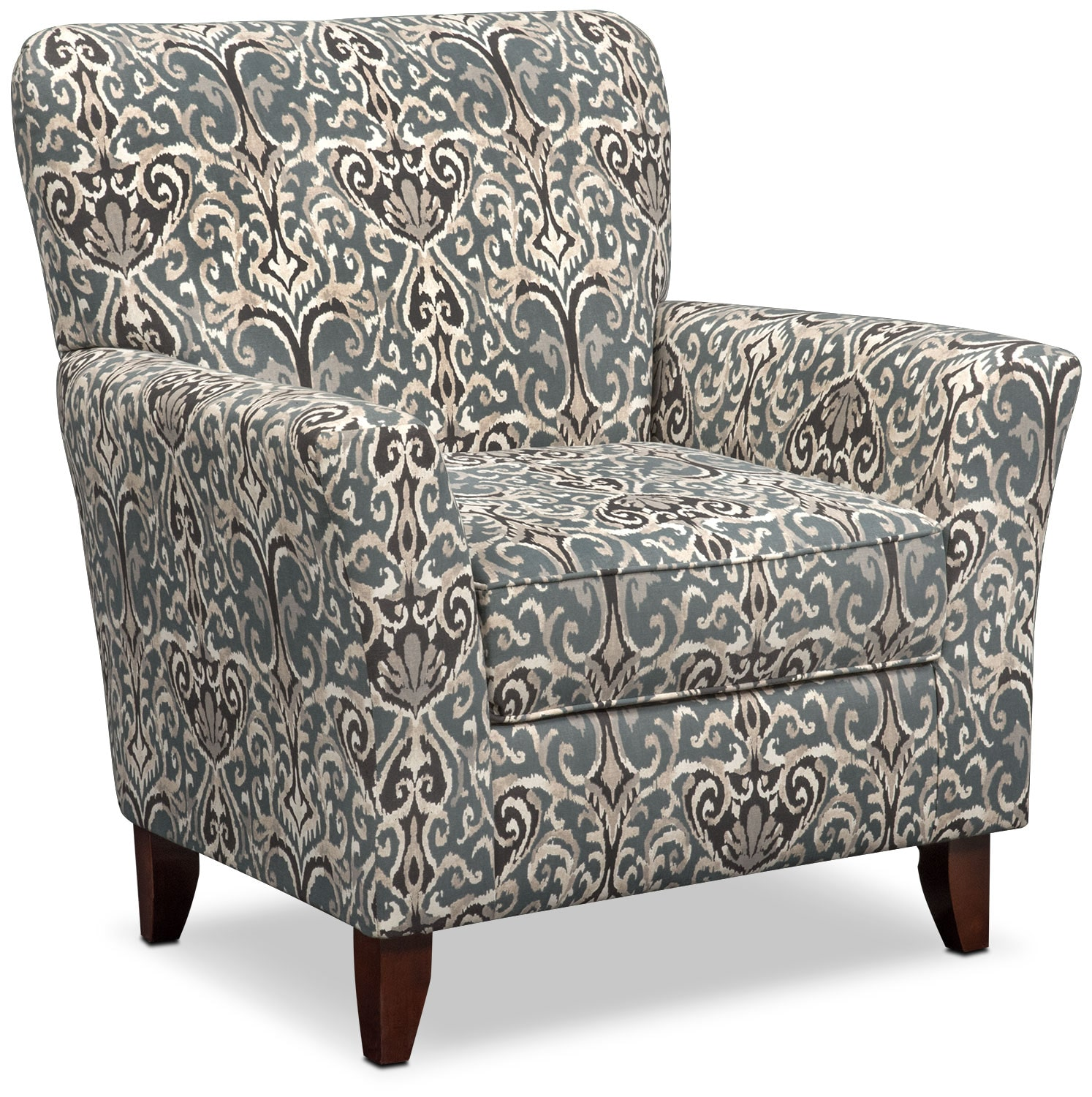 Carla Accent Chair - Gray