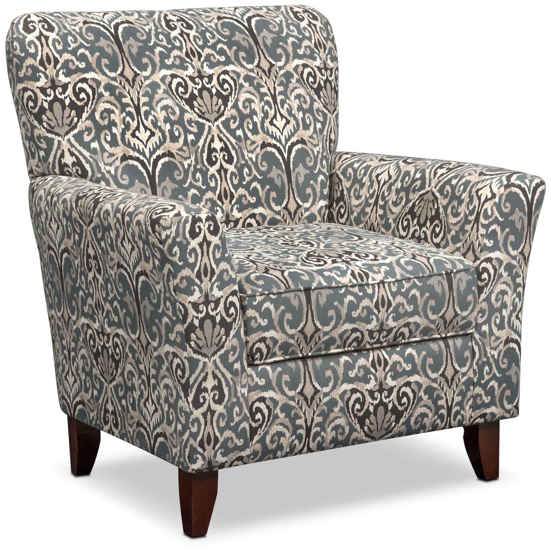 Carla Accent Chair   Gray