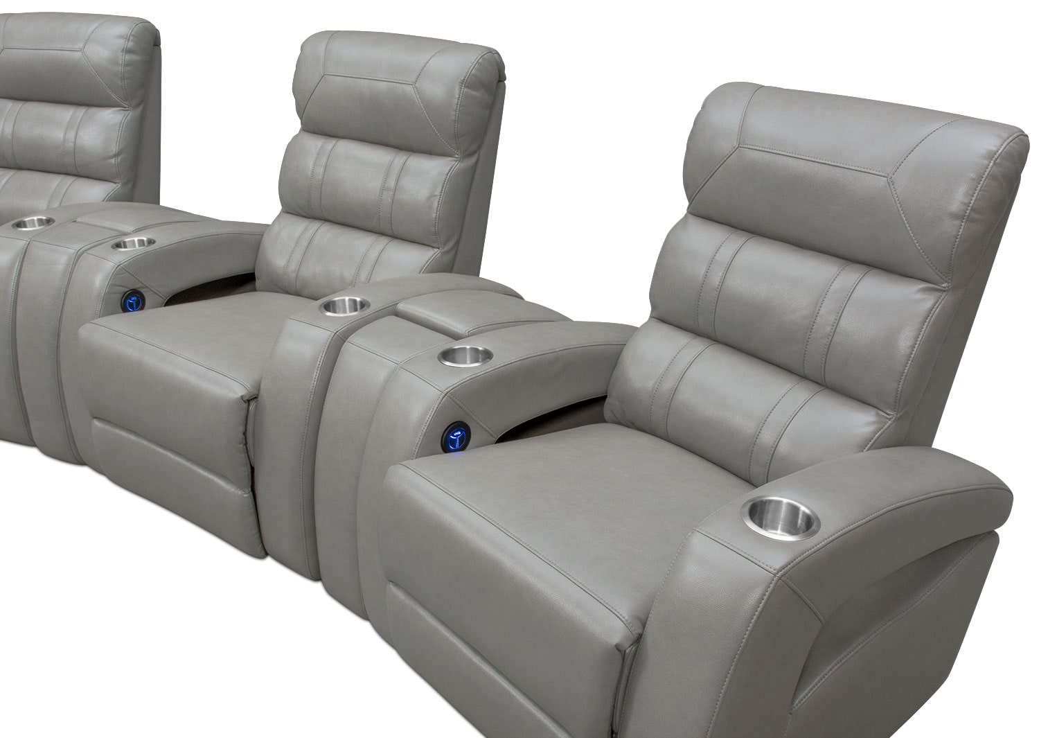 Click to change image.  sc 1 st  American Signature Furniture : home theater power recliner - islam-shia.org