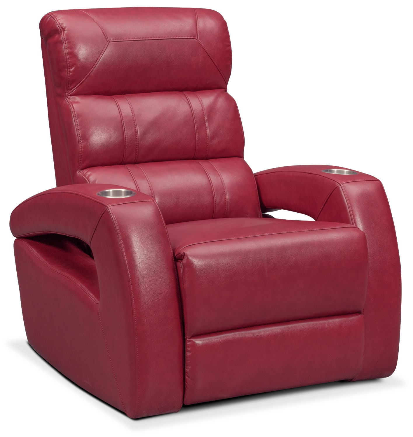 Bravo Power Recliner - Red