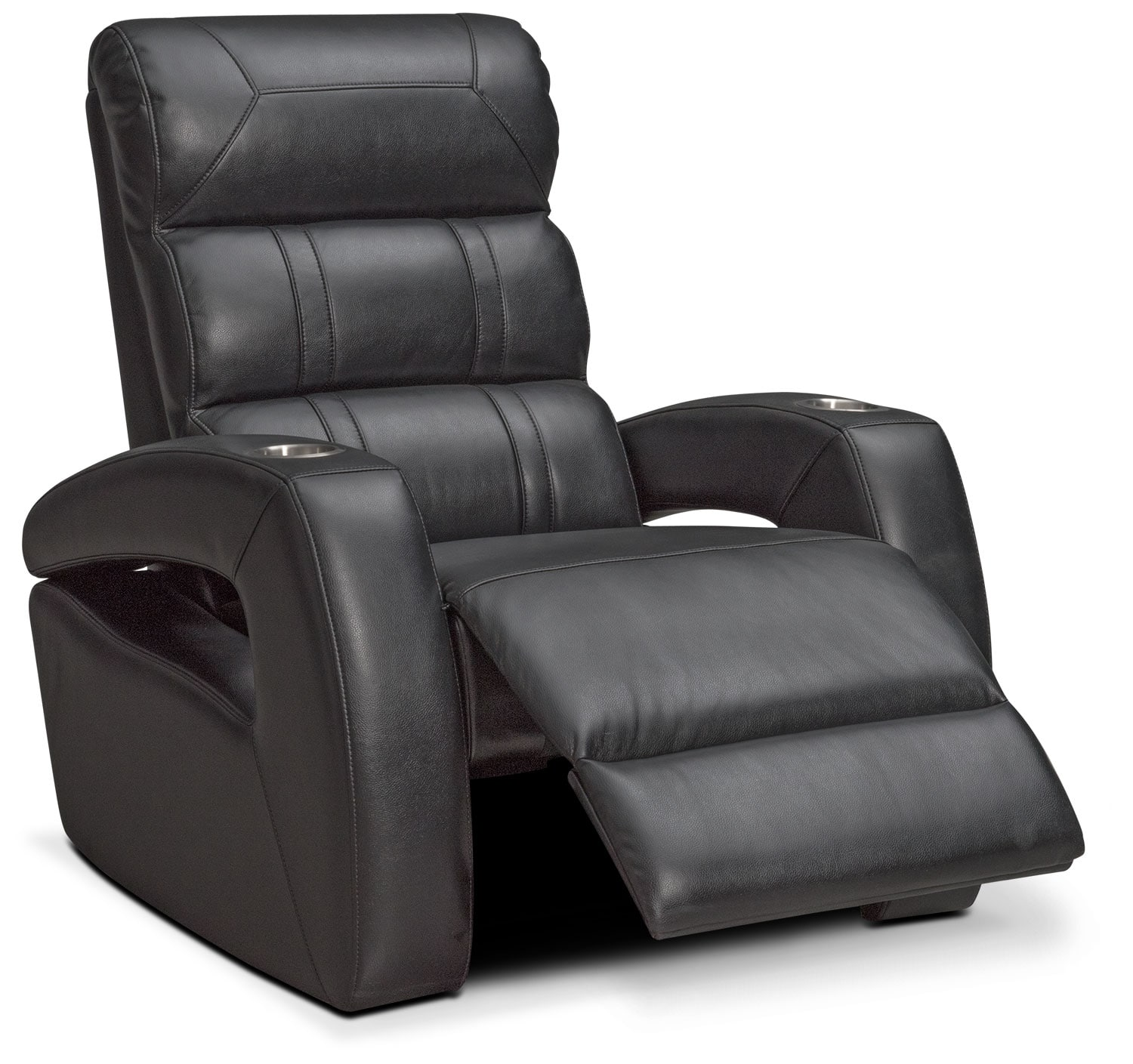 Easy chair recliner - Bravo Power Recliner Black By One80