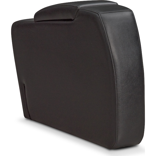 Living Room Furniture - Bravo Storage Console - Black