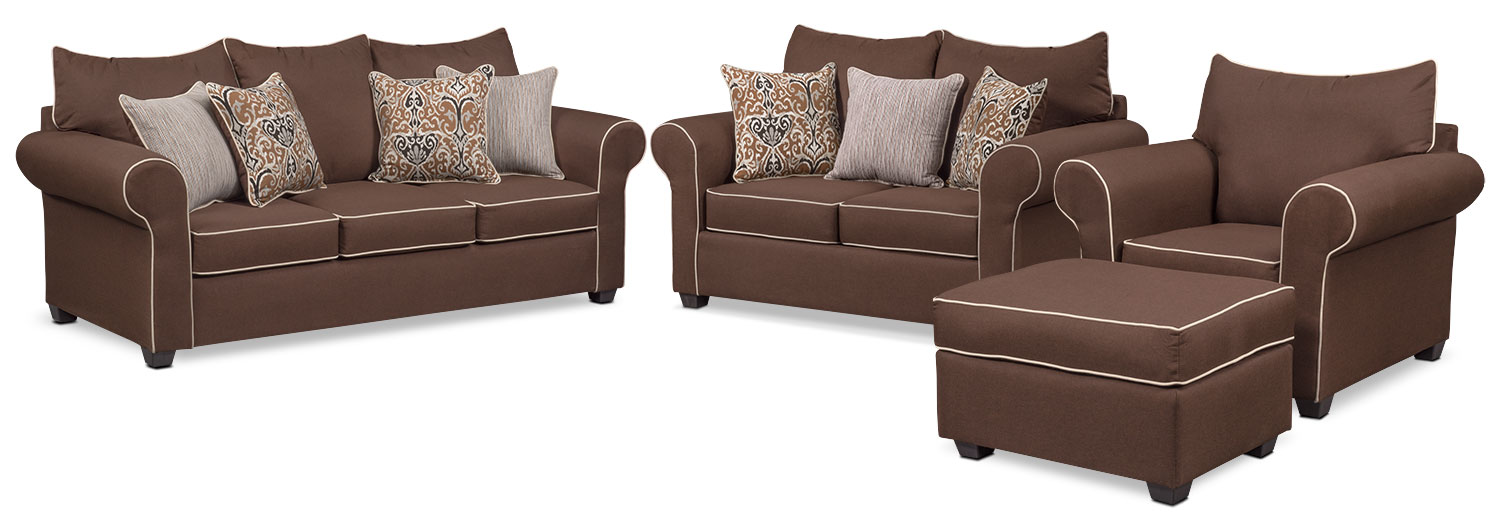 The Carla Collection - Chocolate