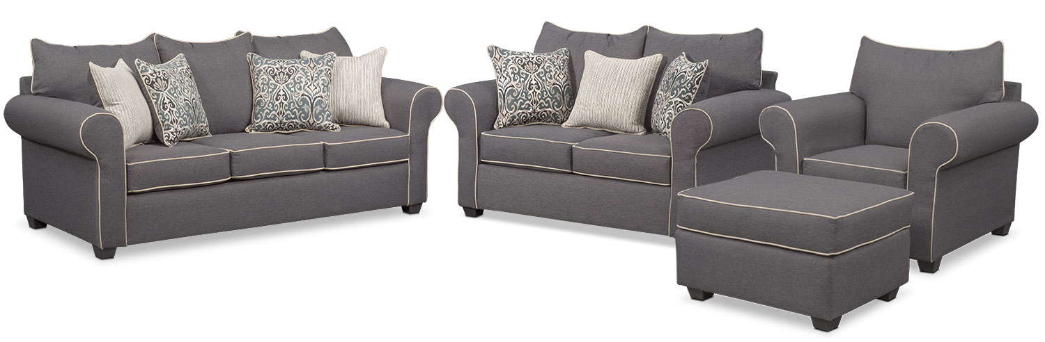 The Carla Collection - Gray