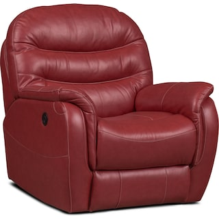 Milo Power Recliner - Red