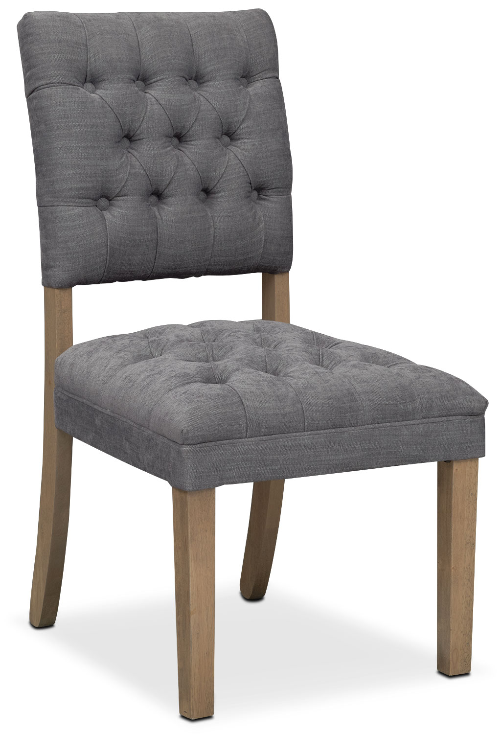 Dining Room Furniture - Gretchen Side Chair - Gray