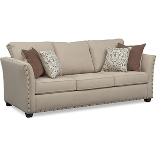 Mckenna Queen Innerspring Sleeper Sofa - Sand