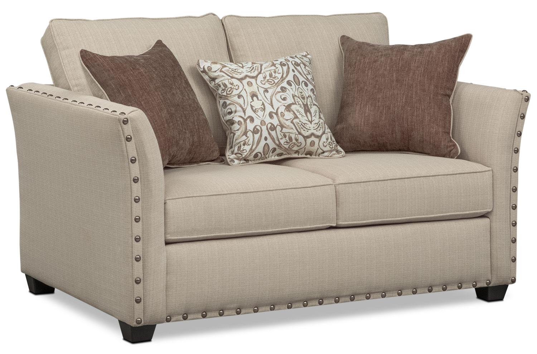 Mckenna Queen Memory Foam Sleeper Sofa Loveseat And