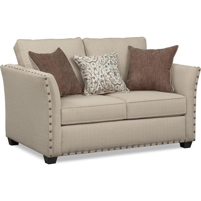Living Room Furniture - Mckenna Loveseat
