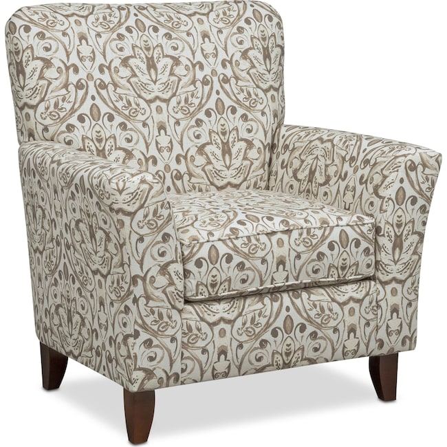 Living Room Furniture - Mckenna Accent Chair - Sand