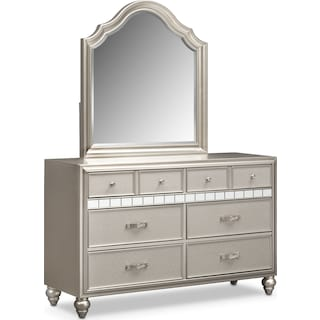 Serena Dresser and Mirror