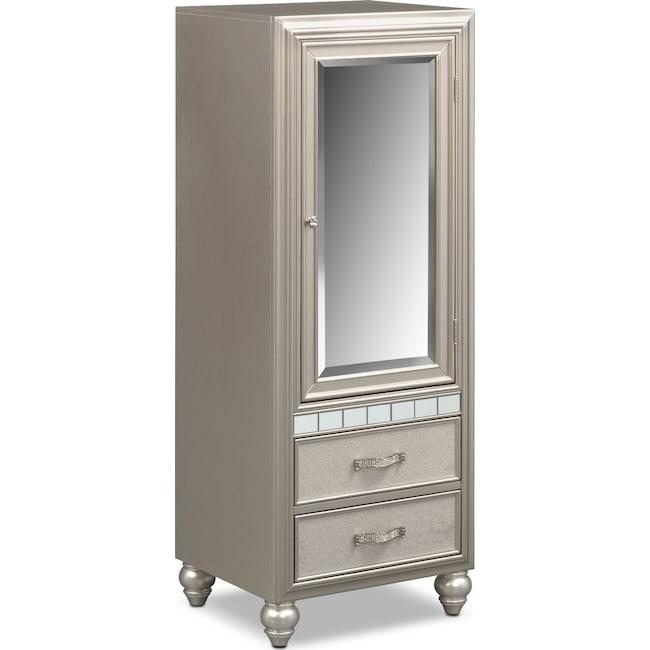 Bedroom Furniture - Serena Wardrobe - Platinum