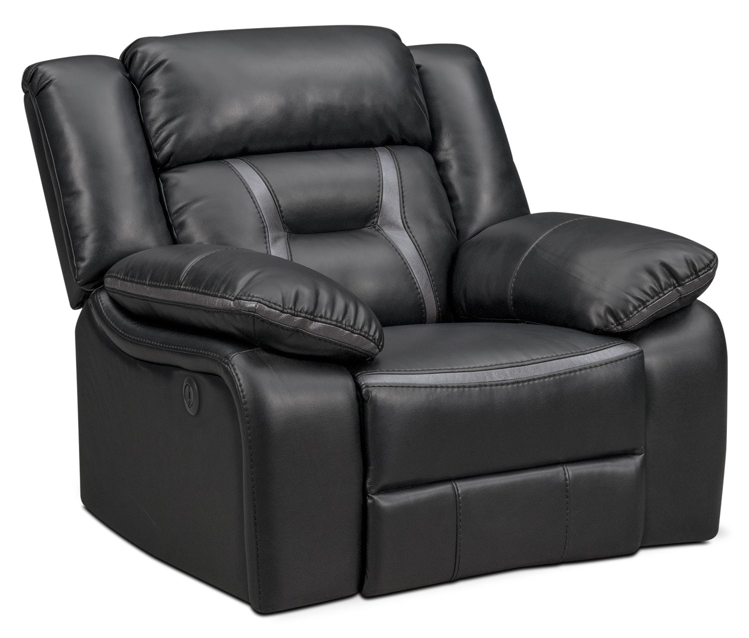 Remi Glider Power Recliner - Black