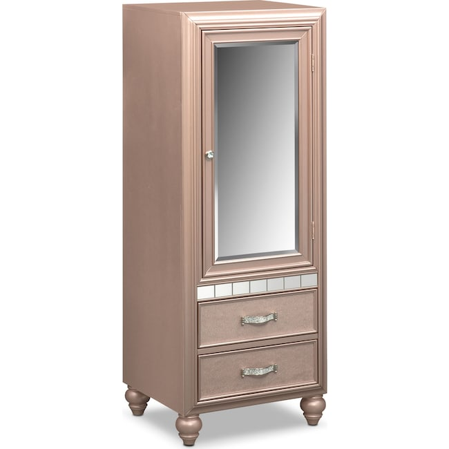 Kids Furniture - Serena Wardrobe - Rose Quartz