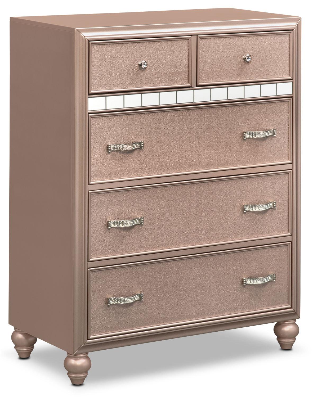 Kids Furniture - Serena Chest - Rose Quartz