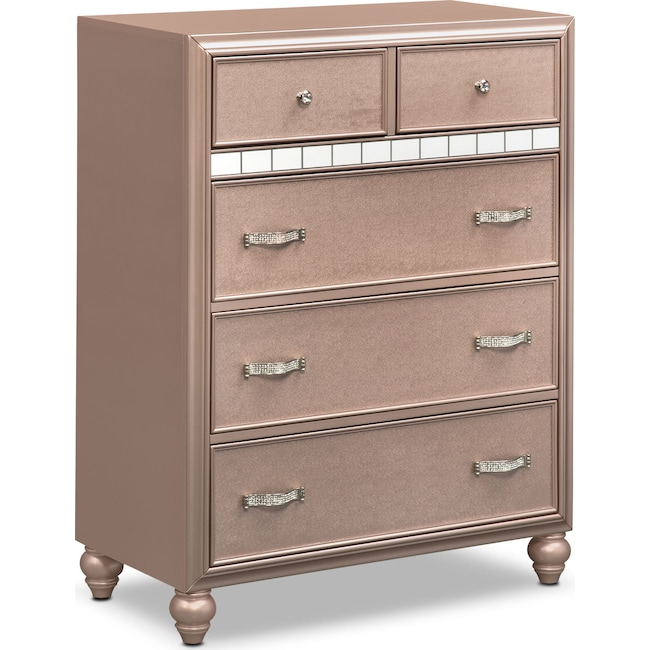 Bedroom Furniture - Serena Chest - Rose Quartz