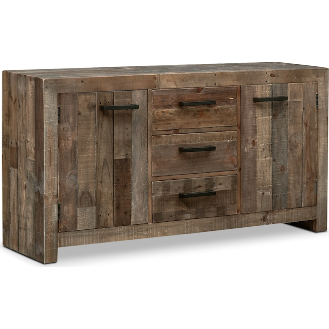 Dining Room Furniture - Rancho Buffet - Pine