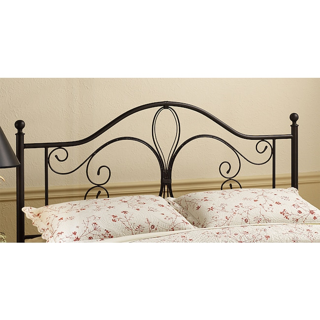 Bedroom Furniture - Mill King Headboard - Brown