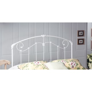 Maddie Twin Headboard - White