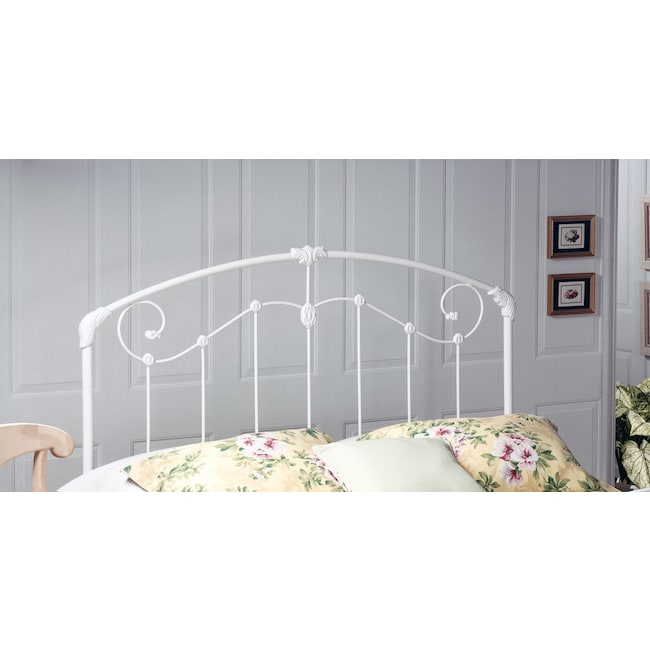 Bedroom Furniture - Maddie Twin Headboard - White