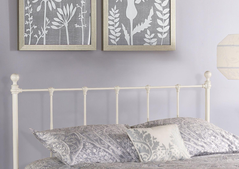 Bedroom Furniture - Molly Queen Headboard - White