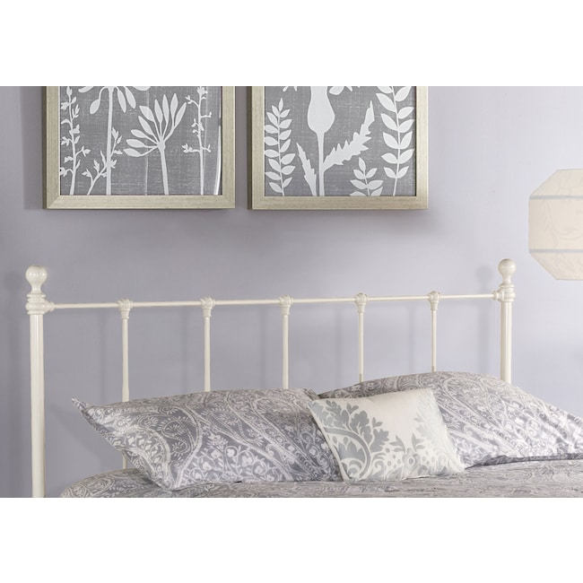 Bedroom Furniture - Molly Queen Headboard - White