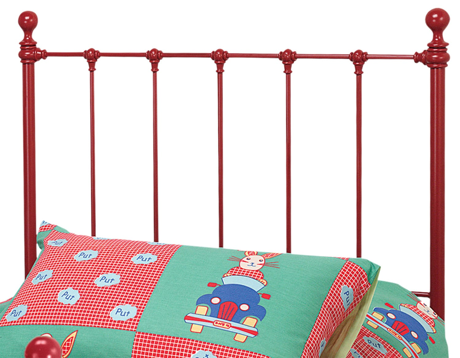 Bedroom Furniture - Molly Twin Headboard - Red