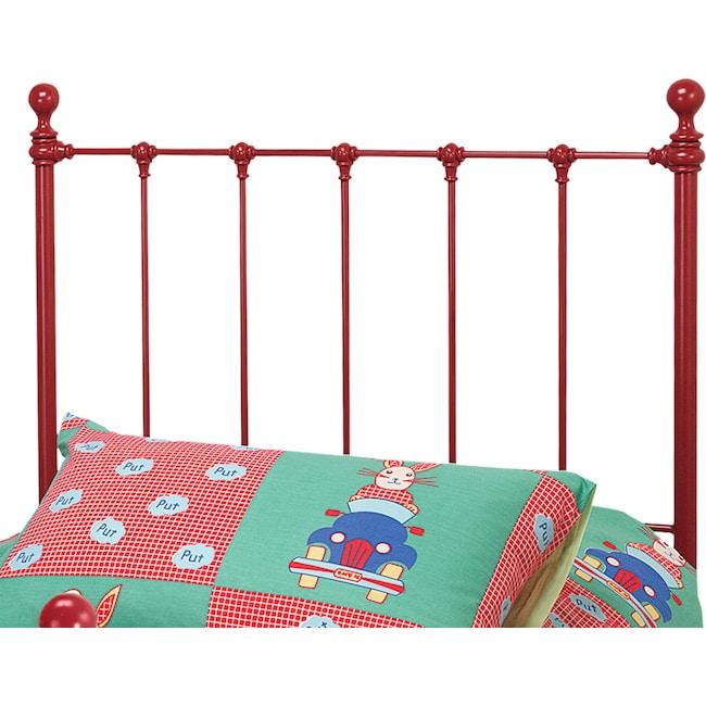 Bedroom Furniture - Molly Twin Headboard - Red