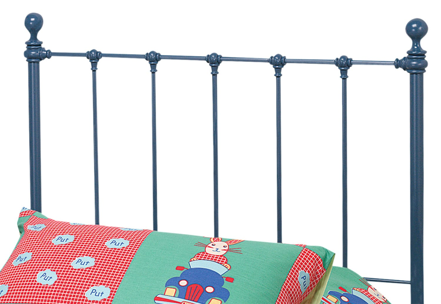 Bedroom Furniture - Molly Twin Headboard - Blue