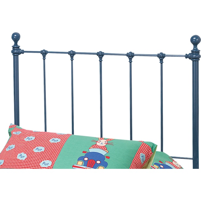 Bedroom Furniture - Molly Twin Headboard - Blue