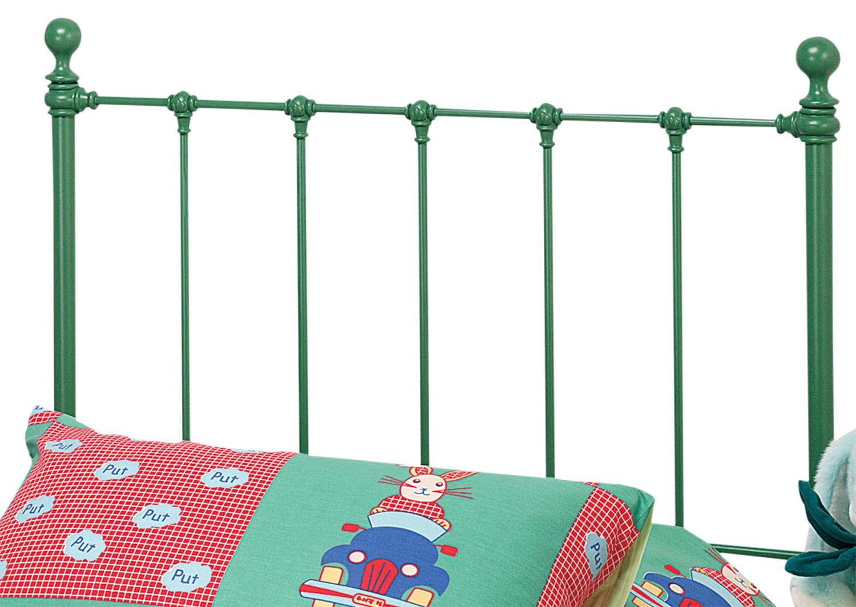Bedroom Furniture - Molly Twin Headboard - Green