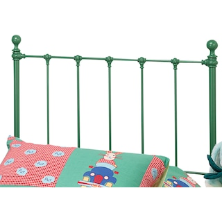 Molly Twin Headboard - Green