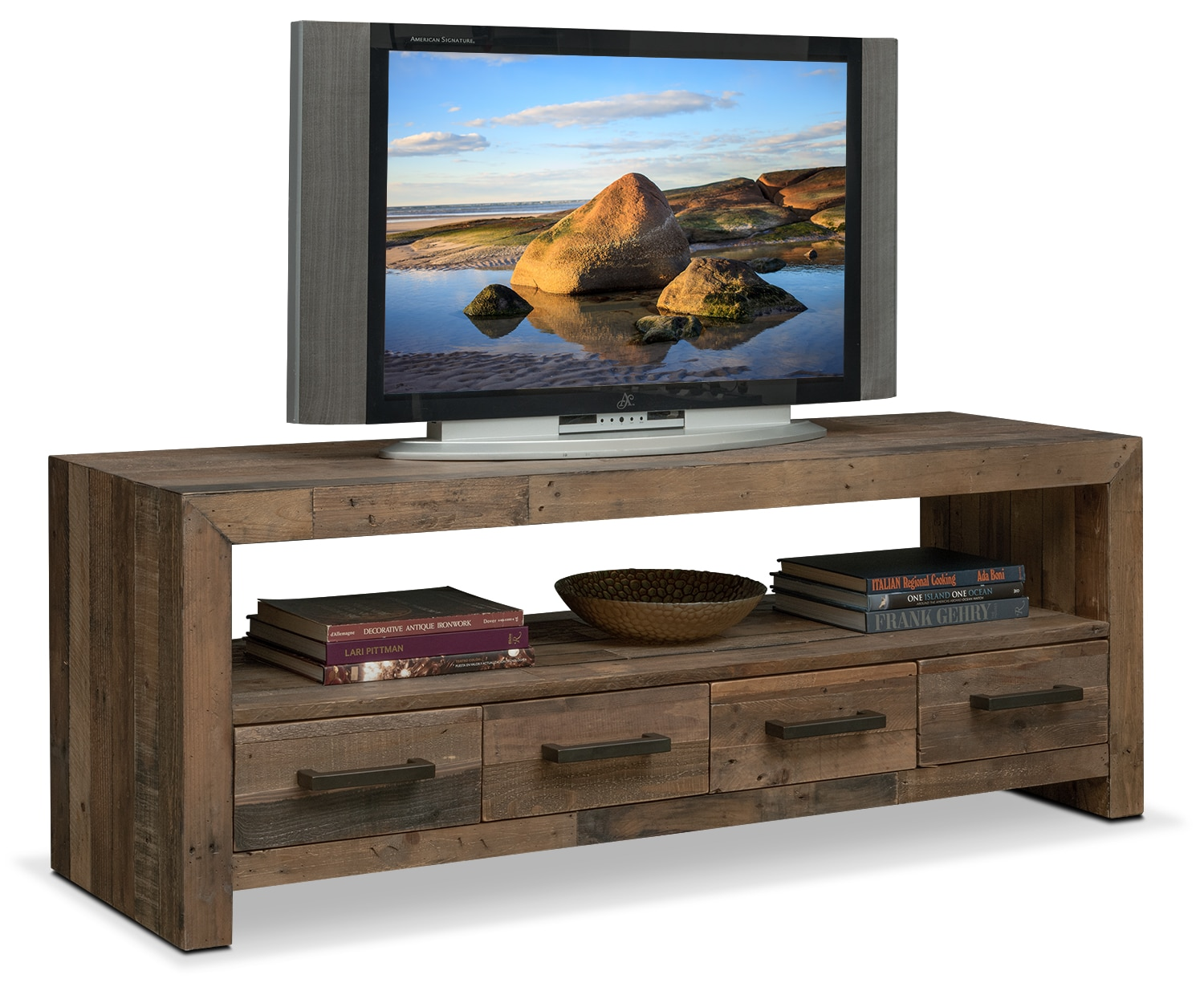 """Rancho 63"""" TV Stand - Pine"""