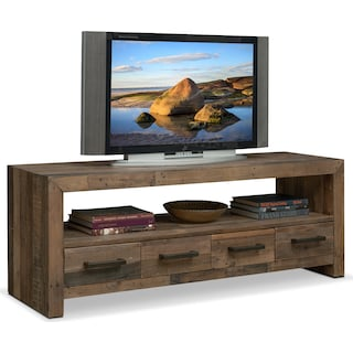 "Rancho 63"" TV Stand - Pine"