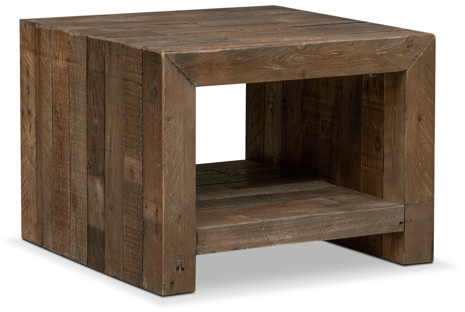 Entertainment Furniture - Rancho End Table - Pine