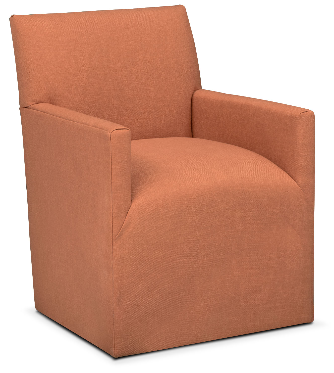 Laurie Arm Chair - Orange
