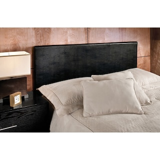 Spring Twin Headboard - Black