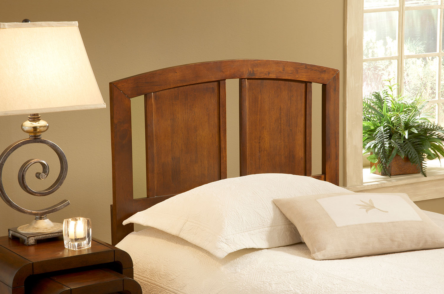 Bedroom Furniture - Steph Full/Queen Headboard - Walnut