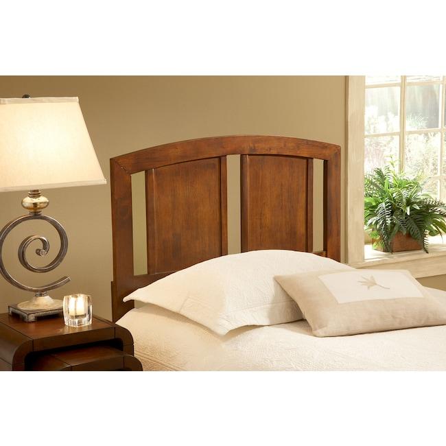 Bedroom Furniture - Steph Full/Queen Headboard - Walnut