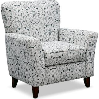 Mckenna Accent Chair - Multi Pewter