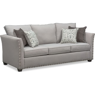 Mckenna Sofa - Pewter